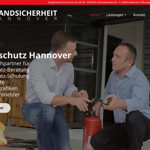 Webseite zu verkaufen: Brandsicherheiit-Hannover.de