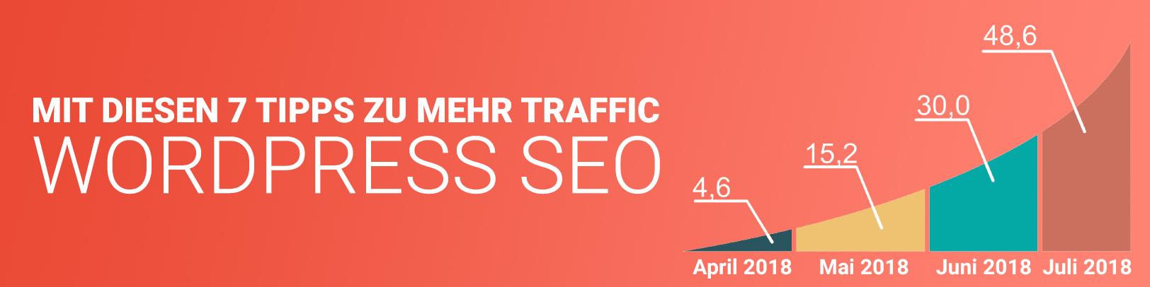Wordpress Suchmaschinenoptimierung, 7 Tipps zu mehr organischem Traffic