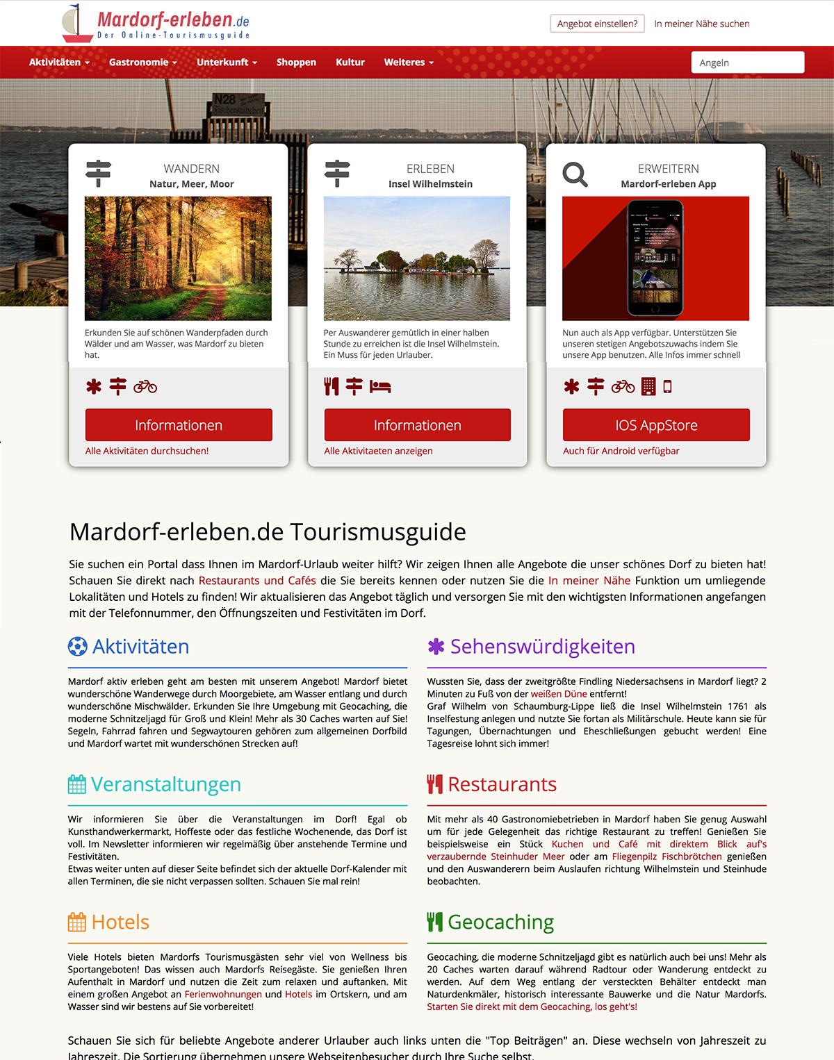 Mardorf-erleben.de Der Tourismusguide für Mardorf